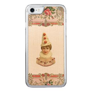 Capa iPhone 8/ 7 Carved iPhone bonito REBELDE RETRO 5/5S da mulher de