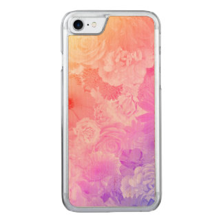 Capa iPhone 8/ 7 Carved Kawaii floresce floral