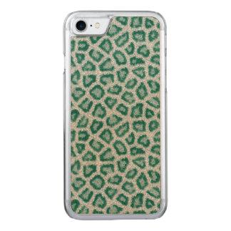Capa iPhone 8/ 7 Carved Leopardo da cerceta