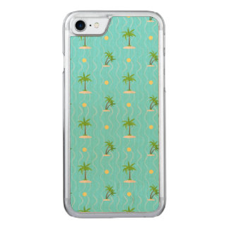 Capa iPhone 8/ 7 Carved Linhas onduladas teste padrão das palmeiras