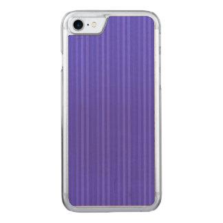 Capa iPhone 8/ 7 Carved Listras verticais dos azuis cobaltos