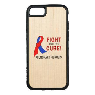 Capa iPhone 8/ 7 Carved Luta da fibrose pulmonaa para a cura