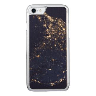 Capa iPhone 8/ 7 Carved Luzes da NASA do espaço EUA