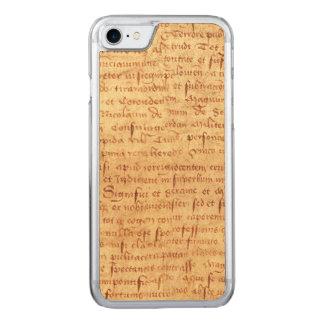 Capa iPhone 8/ 7 Carved Manuscrito medieval