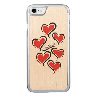 Capa iPhone 8/ 7 Carved Meus namorados do querido