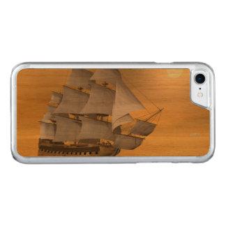Capa iPhone 8/ 7 Carved Navio mercante velho - 3D rendem