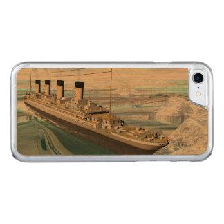 Capa iPhone 8/ 7 Carved Navio titânico - 3D rendem