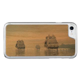 Capa iPhone 8/ 7 Carved Navios velhos no oceano - 3D rendem