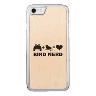 Capa iPhone 8/ 7 Carved Nerd engraçado do pássaro de Birdwatcher do Birder