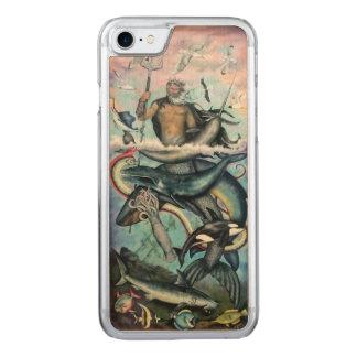 Capa iPhone 8/ 7 Carved Netuno
