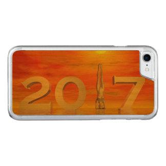 Capa iPhone 8/ 7 Carved O feliz ano novo 2017 do zen - 3D rendem