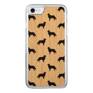 Capa iPhone 8/ 7 Carved O Retriever revestido liso mostra em silhueta o