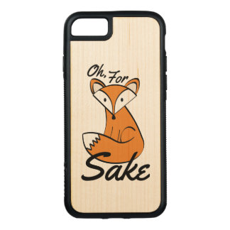 Capa iPhone 8/ 7 Carved Oh, para a causa do Fox