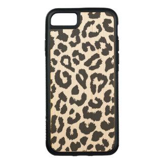 Capa iPhone 8/ 7 Carved Padrões pretos & brancos da pele animal do