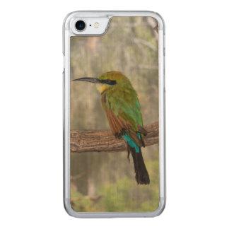 Capa iPhone 8/ 7 Carved Pássaro do abelha-comedor do arco-íris, Austrália
