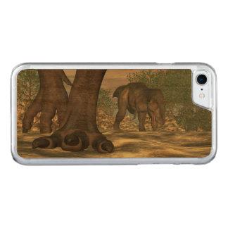 Capa iPhone 8/ 7 Carved Pés do dinossauro do rex do tiranossauro - 3D