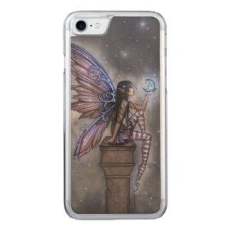 Capa iPhone 8/ 7 Carved Pouca arte feericamente da fantasia da lua azul