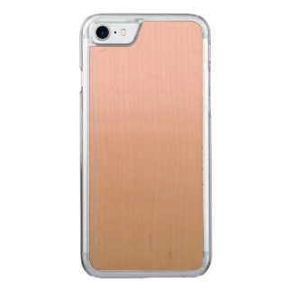 Capa iPhone 8/ 7 Carved Quartzo cor-de-rosa e café congelado Ombre Brown
