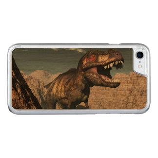 Capa iPhone 8/ 7 Carved Rex do tiranossauro que ruje em uma garganta