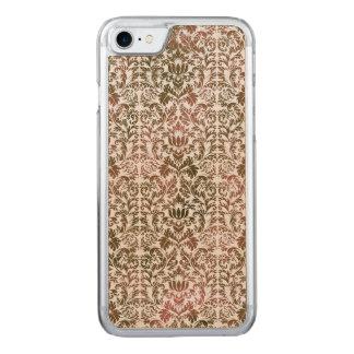 Capa iPhone 8/ 7 Carved Rosa e damasco de várias cores de Shibori do Batik