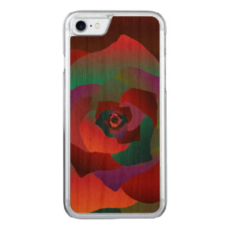 Capa iPhone 8/ 7 Carved Rosa multicolorido,
