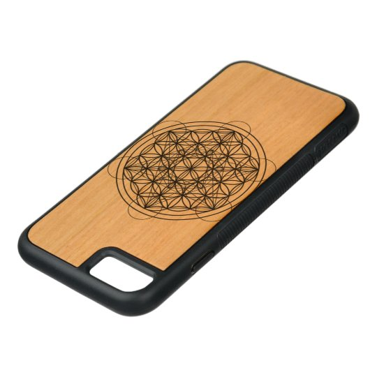 Capa iPhone 8/ 7 Carved Sacred geometry