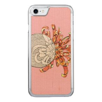 Capa iPhone 8/ 7 Carved Seja minha flor