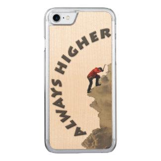 Capa iPhone 8/ 7 Carved Sempre mais alto! Design das cinzas