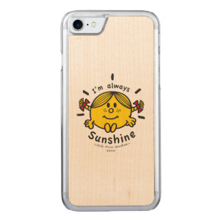 Capa iPhone 8/ 7 Carved Senhorita pequena Luz do sol | eu sou sempre luz