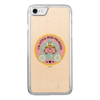 Capa iPhone 8/ 7 Carved Senhorita pequena princesa | eu sou uma princesa