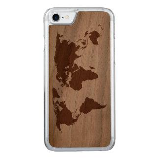Capa iPhone 8/ 7 Carved Seu mundo -