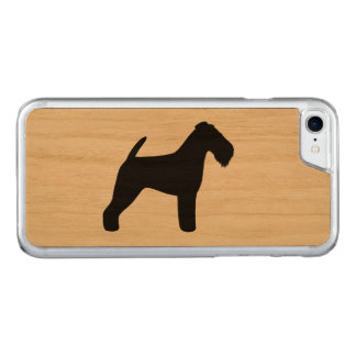 Capa iPhone 8/ 7 Carved Silhueta de galês Terrier