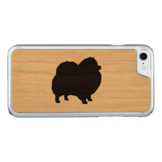Capa iPhone 8/ 7 Carved Silhueta de Pomeranian