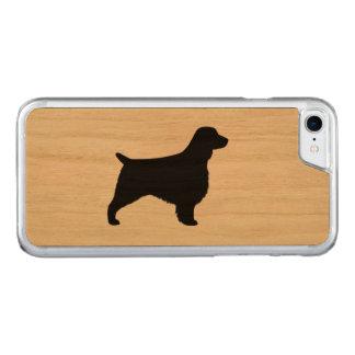 Capa iPhone 8/ 7 Carved Silhueta do Spaniel de galês Springer