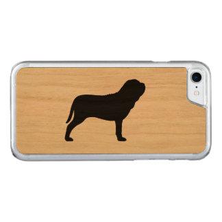 Capa iPhone 8/ 7 Carved Silhueta napolitana do Mastiff
