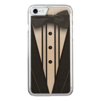 Capa iPhone 8/ 7 Carved Smoking preto com laço