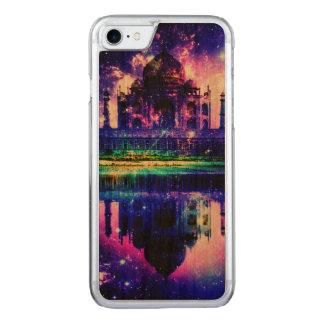 Capa iPhone 8/ 7 Carved Sonhos iridescentes de Taj Mahal