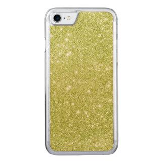 Capa iPhone 8/ 7 Carved Sparkles do brilho do verde limão