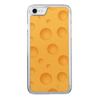 Capa iPhone 8/ 7 Carved Teste padrão amarelo do queijo