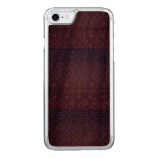 Capa iPhone 8/ 7 Carved Teste padrão antigo real luxuoso floral