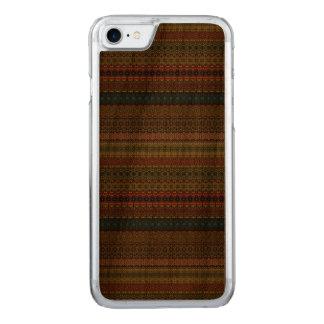 Capa iPhone 8/ 7 Carved Teste padrão asteca tribal do vintage
