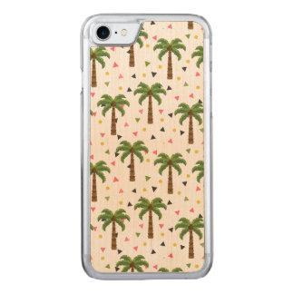 Capa iPhone 8/ 7 Carved Teste padrão bonito com palmeiras e formas