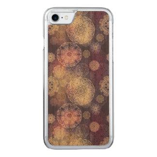 Capa iPhone 8/ 7 Carved Teste padrão luxuoso floral da mandala