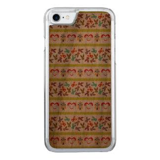 Capa iPhone 8/ 7 Carved Teste padrão psicótico da páscoa colorido