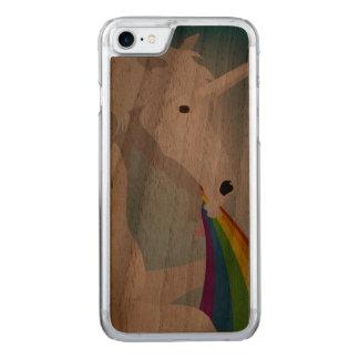 Capa iPhone 8/ 7 Carved Unicórnios puking da ilustração