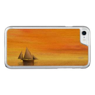 Capa iPhone 8/ 7 Carved Veleiro pequeno - 3D rendem