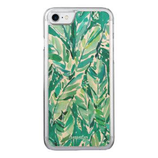 Capa iPhone 8/ 7 Carved Verde da SELVA da FOLHA da BANANA tropical