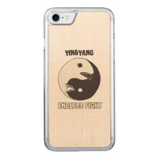 Capa iPhone 8/ 7 Carved yin e estilo infinito dos desenhos animados da