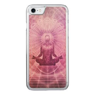 Capa iPhone 8/ 7 Carved Zen espiritual da meditação da ioga colorido
