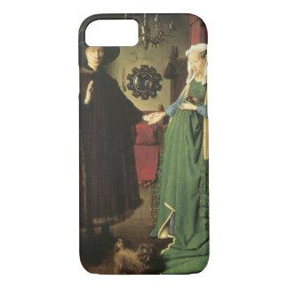 Capa iPhone 8/ 7 Casamento de Jan van Eyck